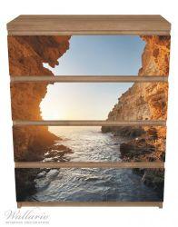 Möbelfolie Höhlen am Meer – Bild 3