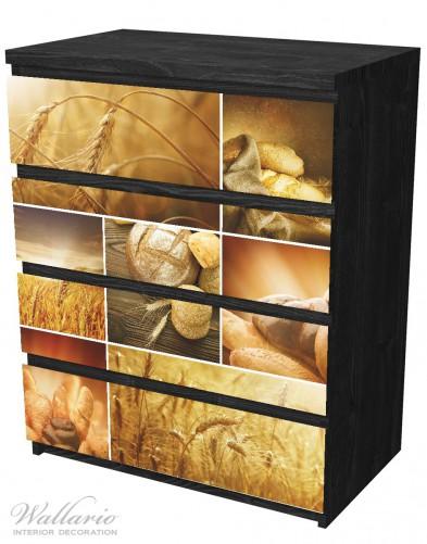 Möbelfolie Getreide und Brotsorten aus Weizen – Bild 4
