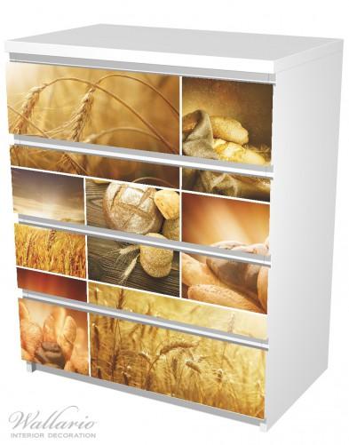 Möbelfolie Getreide und Brotsorten aus Weizen – Bild 5