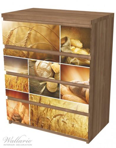 Möbelfolie Getreide und Brotsorten aus Weizen – Bild 6