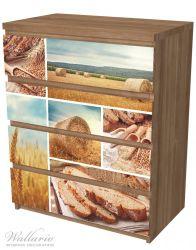 Möbelfolie Weizen und Mehl  Vom Korn zum Brot – Bild 6