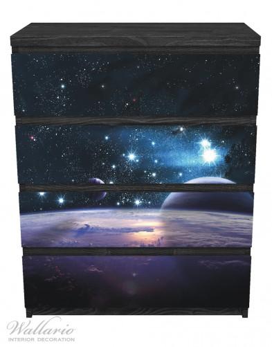 Möbelfolie Planeten im Weltall – Bild 1