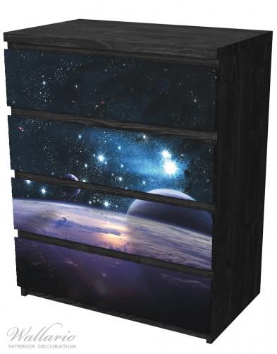 Möbelfolie Planeten im Weltall – Bild 4