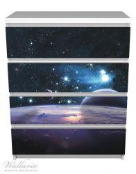Möbelfolie Planeten im Weltall – Bild 2