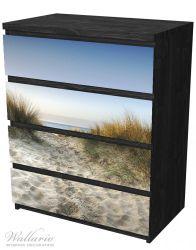 Möbelfolie Weg durch die Dünen zum Strand am Meer – Bild 4