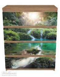 Möbelfolie Türkisgrüner See im Nationalpark in Guatemala – Bild 3