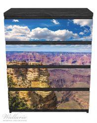 Möbelfolie Felsenschlucht im Grand Canyon Park Arizona – Bild 1
