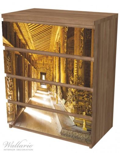 Möbelfolie Buddhistischer Tempel aus Holz - Mandaley – Bild 6