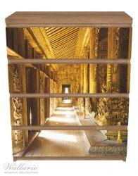 Möbelfolie Buddhistischer Tempel aus Holz - Mandaley – Bild 3