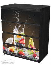 Möbelfolie Tropische Früchte in einem erfrischenden Drink – Bild 4