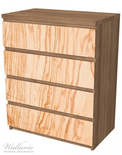 Möbelfolie Holzmuster - Oberfläche mit Holzmaserung VI – Bild 6