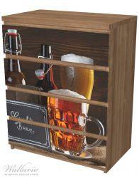 Möbelfolie Biervarianten - Pils im Glas, Flaschenbier, Schild Craft Beer – Bild 6