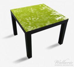 Möbelfolie Bambusmuster grün-weiß – Bild 1
