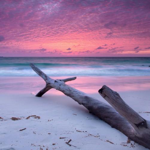 Möbelfolie Abendhimmel bei Sonnenuntergang – Bild 3