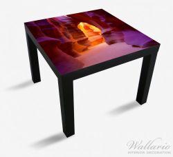 Möbelfolie Felsschlucht in Arizona USA - orange und violett – Bild 1