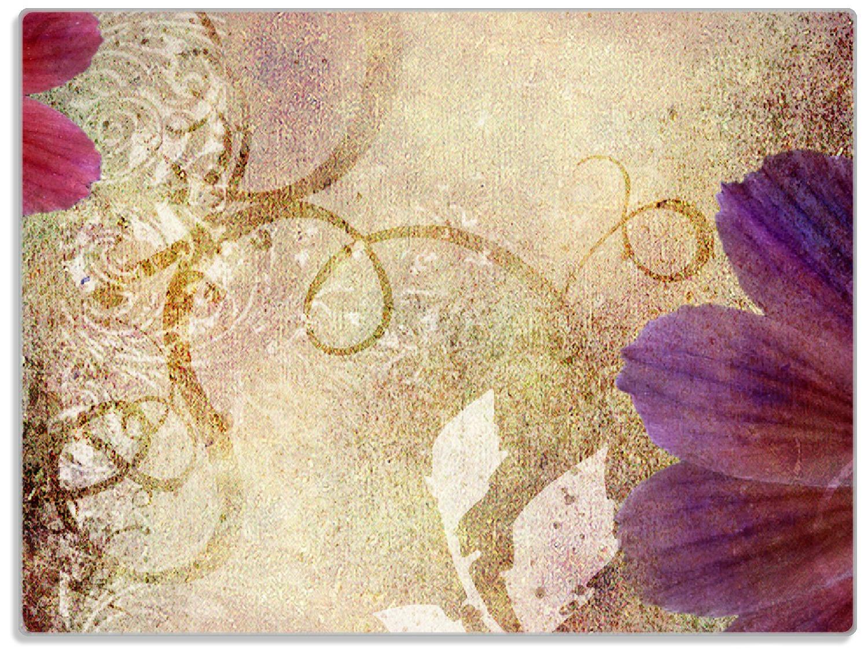Glasunterlage Harmonien in lila – Bild 1