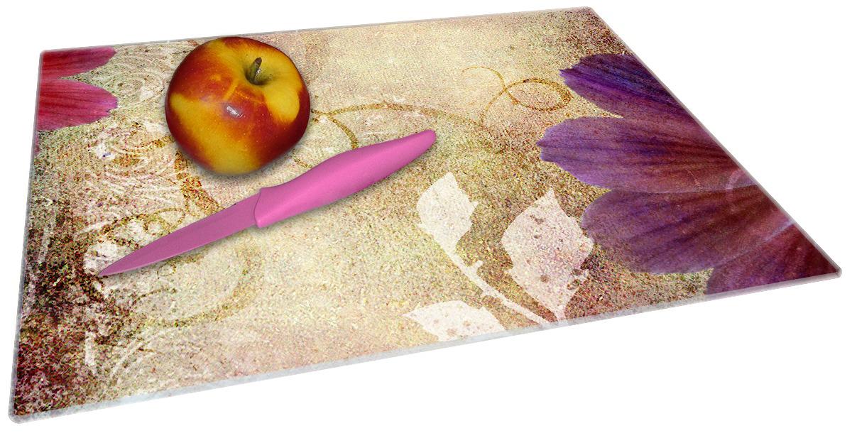 Glasunterlage Harmonien in lila – Bild 2