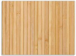 Glasunterlage Holzpanele hell – Bild 1