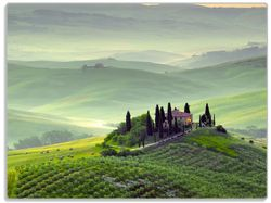 Glasunterlage Toskana in Italien – Bild 1