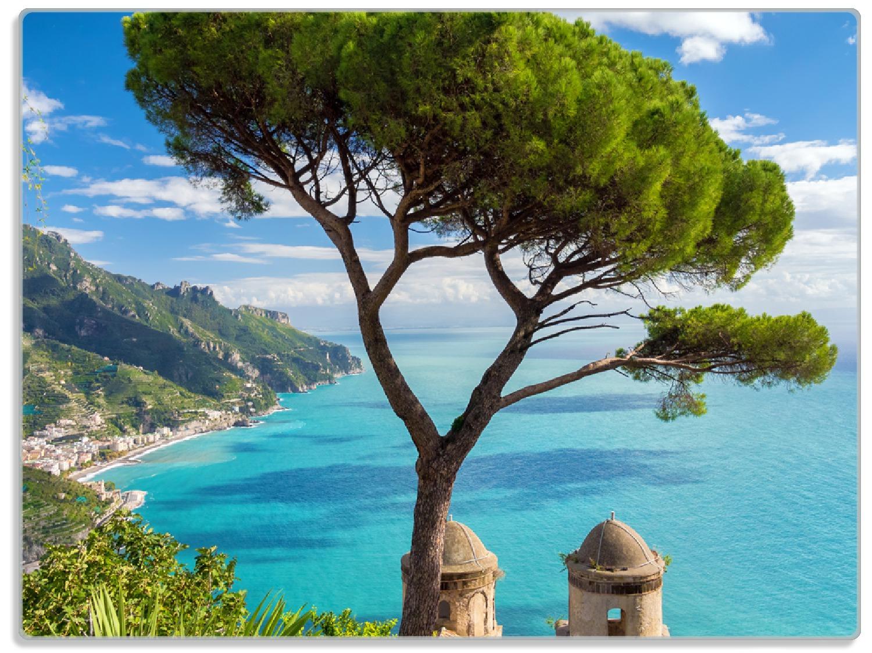 Glasunterlage Italienische Küste – Bild 1
