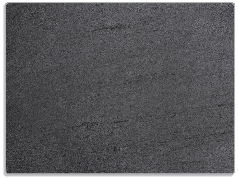 Glasunterlage Schwarze Schiefertafel Optik – Steintafel – Bild 1
