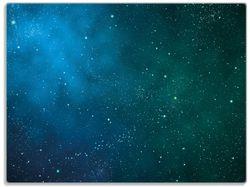 Glasunterlage Sternenhimmel - Milchstraße und Sterne bei Nacht – Bild 1