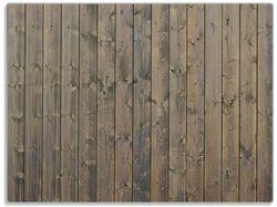 Glasunterlage Holzpaneelen in grau braun - Holzmuster mit Maserung – Bild 1