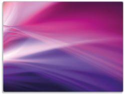 Glasunterlage Abstrakte Formen und Linien in pink lila – Bild 1