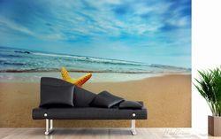 Vliestapete Seestern am Strand am Meer – Bild 3