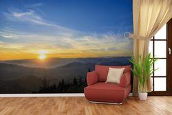 Vliestapete Sonnenaufgang über dem Schwarzwald – Bild 4