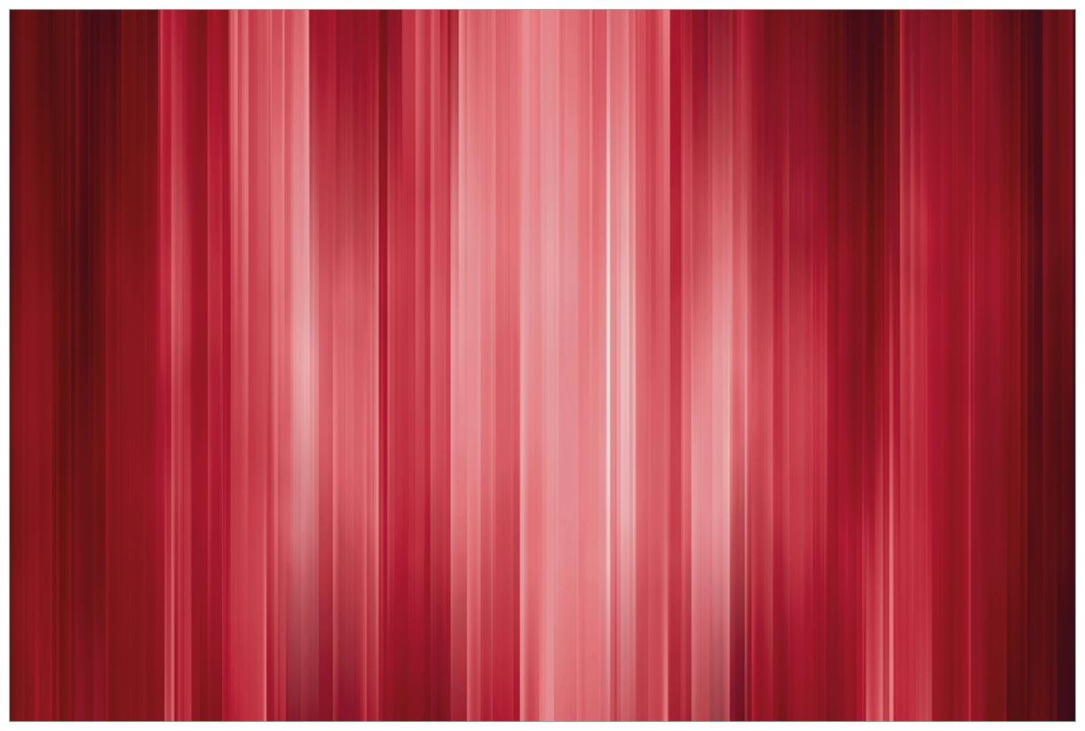 Vliestapete Rot und schwarz gestreift - Abstraktes Streifenmuster – Bild 1