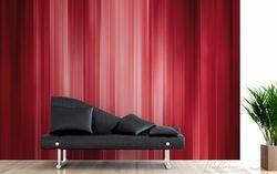 Vliestapete Rot und schwarz gestreift - Abstraktes Streifenmuster – Bild 3