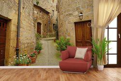 Vliestapete Weg durch die Altstadt - Toskana in Italien – Bild 4