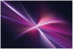 Vliestapete Abstrakte Formen und Linien  schwarz lila pink weiß – Bild 1