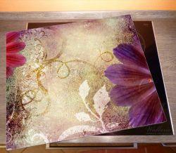 Herdabdeckplatte Harmonien in pink – Bild 2
