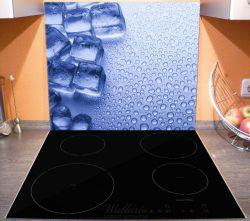 Herdabdeckplatte Eiswürfel – Bild 3