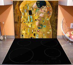 Herdabdeckplatte Der Kuss von Klimt – Bild 3