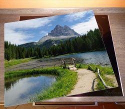 Herdabdeckplatte See in Berglandschaft – Bild 2