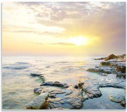 Herdabdeckplatte Sonnenuntergang über dem Meer – Bild 1
