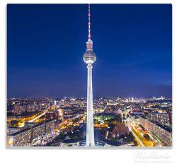 Herdabdeckplatte Fernsehturm Berlin bei Nacht – Bild 1