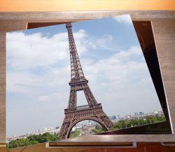 Herdabdeckplatte Eiffelturm in Paris – Bild 2