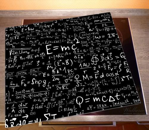 Herdabdeckplatte Mathematische Formeln – Relativitätstheorie – Bild 2