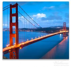 Herdabdeckplatte Golden Gate Bridge in San Francisco, USA – Bild 1