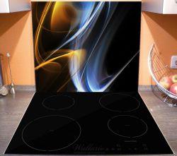 Herdabdeckplatte Abstraktes Design – Bild 3