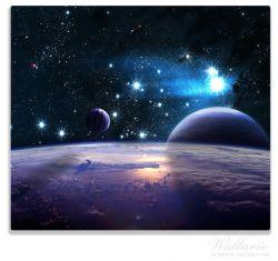 Herdabdeckplatte Planeten im Weltall – Bild 1