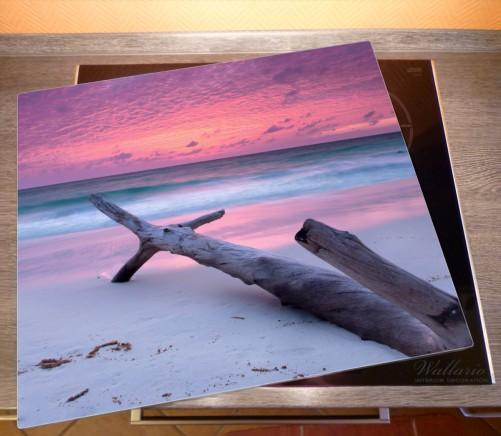 Herdabdeckplatte Abendhimmel bei Sonnenuntergang – Bild 2
