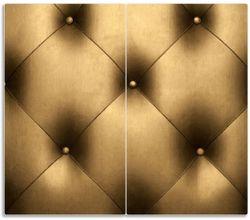 Herdabdeckplatte Goldene Ledertür – Bild 1