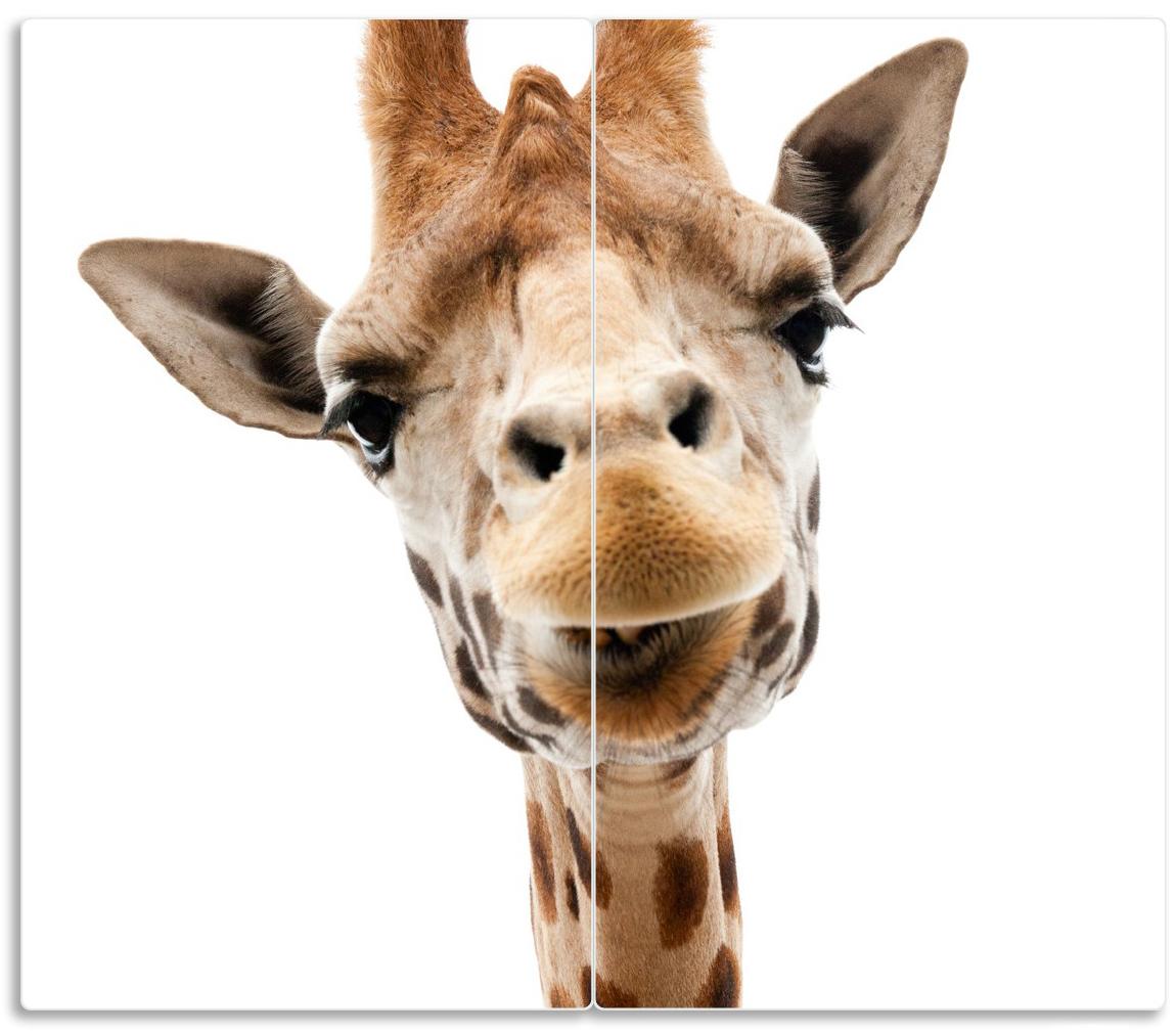 Herdabdeckplatte Giraffenkopf – Bild 1