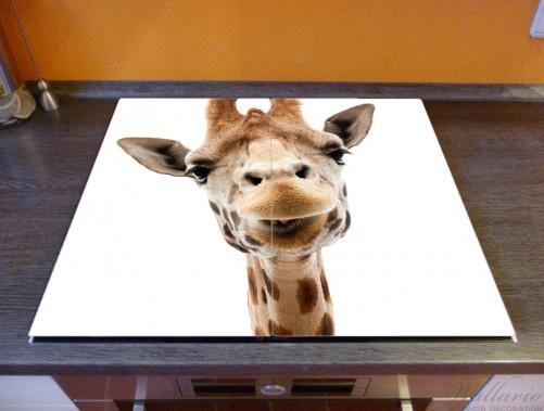 Herdabdeckplatte Giraffenkopf – Bild 2