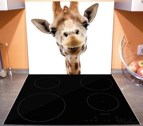 Herdabdeckplatte Giraffenkopf – Bild 3